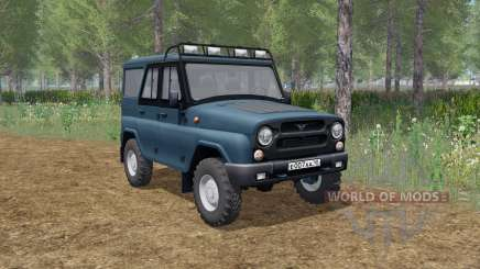 UAZ hunter (315195) elementos animados para Farming Simulator 2017
