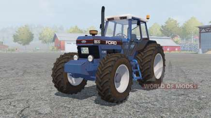 Ford 8630 Powershift cyan cornflower blue para Farming Simulator 2013