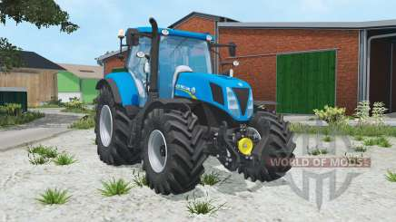 New Holland T7.170 spanish sky blue para Farming Simulator 2015