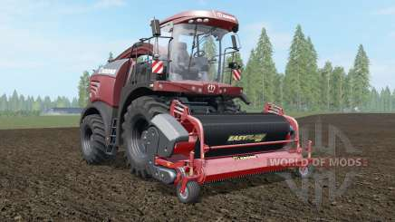 Krone BiG X 580 Tuning Edition deep chestnut para Farming Simulator 2017