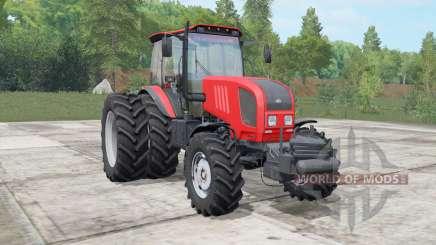 MTZ-Belarús 1822.3 color rojo brillante para Farming Simulator 2017