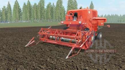 Bizon Super Z056 orange soda para Farming Simulator 2017