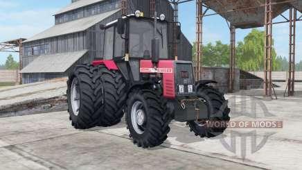 MTZ-952 Belarús color rosa para Farming Simulator 2017