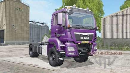 MAN TGS 18.480 razzmic berry para Farming Simulator 2017