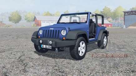 Jeep Wrangler (JK) san marino para Farming Simulator 2013