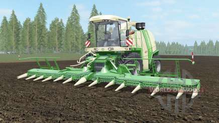 Krone BiG X 1100 light cream para Farming Simulator 2017