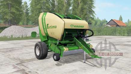 Krone Fortima V 1500 pantone green para Farming Simulator 2017