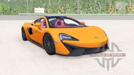 McLaren 570GT 2017 mikado yellow para BeamNG Drive
