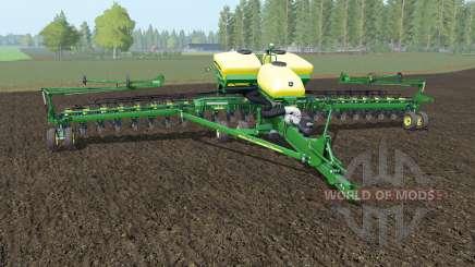 John Deere DB60 north texas green para Farming Simulator 2017