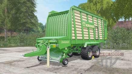 Krone ZX 450 GD para Farming Simulator 2017