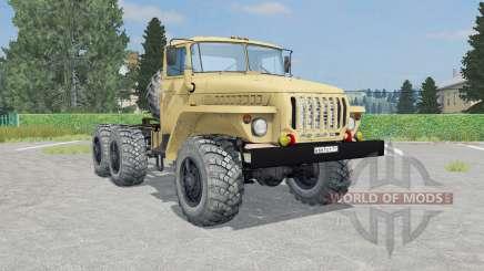 Ural-4420 francés color beige para Farming Simulator 2015