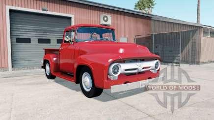 Ford F-100 Custom Cab 1956 para American Truck Simulator