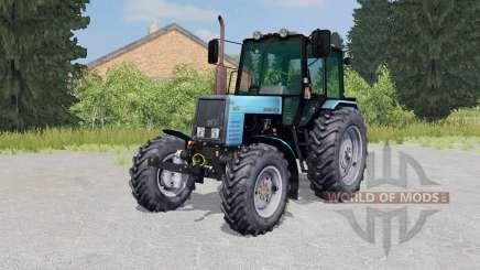 MTZ-Belarús 1025 color azul brillante para Farming Simulator 2015