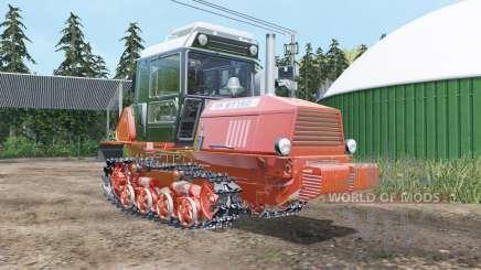 W-150 suave de color rojo para Farming Simulator 2015