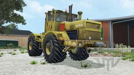 Kirovets K-700A moderadamente color amarillo para Farming Simulator 2015