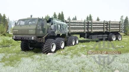 KrAZ-7E-6316 Siberia para MudRunner