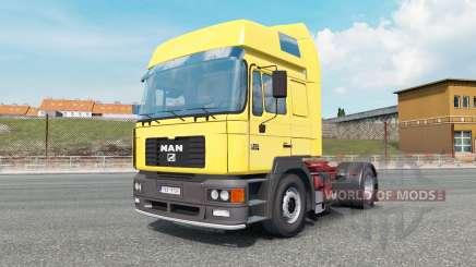 MAN F2000 19.414 gargoyle gas para Euro Truck Simulator 2