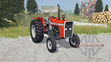 Massey Ferguson 265 orioles orange para Farming Simulator 2015