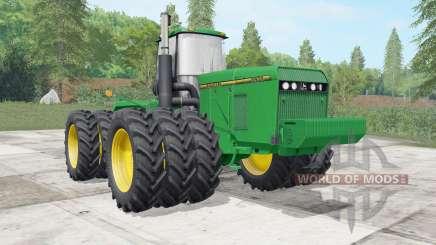 John Deere 8960&8970 wheels selection para Farming Simulator 2017