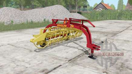 New Holland Rolabar 258 para Farming Simulator 2017