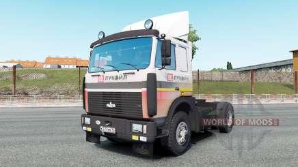 MAZ-54323 v7.0 para Euro Truck Simulator 2