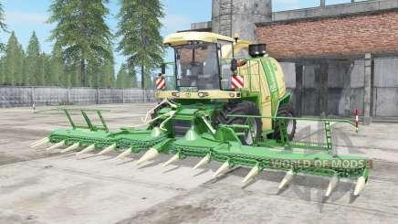 Krone BiG X 1100 vanilla para Farming Simulator 2017