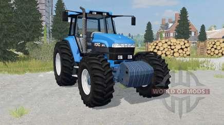 Ford 8970 rich electric blue para Farming Simulator 2015