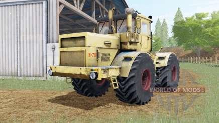 Kirovets K-701 amarillo suave Okas para Farming Simulator 2017