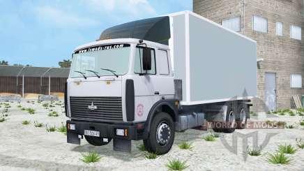 MAZ-6303 luz azul grisáceo color para Farming Simulator 2015