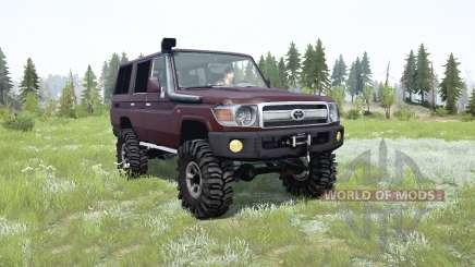 Toyota Land Cruiser 70 (J76) 2007 para MudRunner