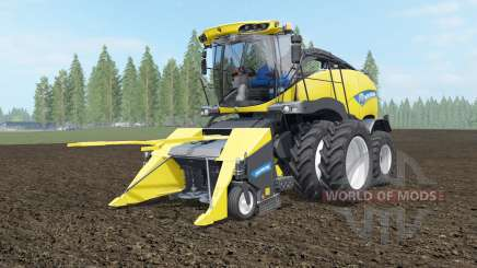 New Holland FR850 dual front wheels para Farming Simulator 2017