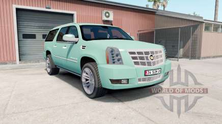 Cadillac Escalade ESV Platinum Edition 2008 para American Truck Simulator