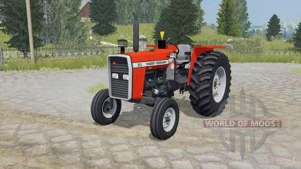 Massey Ferguson 265 coquelicot para Farming Simulator 2015