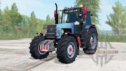 MTZ-1221 Belarús color azul para Farming Simulator 2017