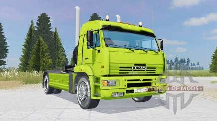KamAZ-5460 verde-cal de color para Farming Simulator 2015