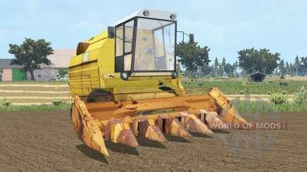 Bizon Gigant Z083 sandstorm para Farming Simulator 2015