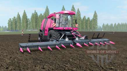Krone BiG X 1100 Pink Edition para Farming Simulator 2017