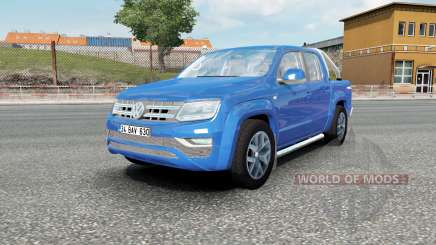 Volkswagen Amarok Double Cab Highline 2016 para Euro Truck Simulator 2