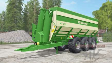 Krone TX 430 north texas green para Farming Simulator 2017