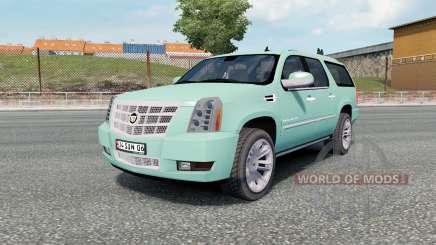 Cadillac Escalade ESV Platinum Edition 2008 para Euro Truck Simulator 2