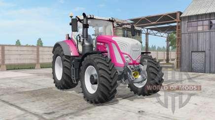 Fendt 930-939 Vario persian rose para Farming Simulator 2017