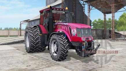 MTZ-3022ДЦ.1 Belarús un color rojo brillante para Farming Simulator 2017
