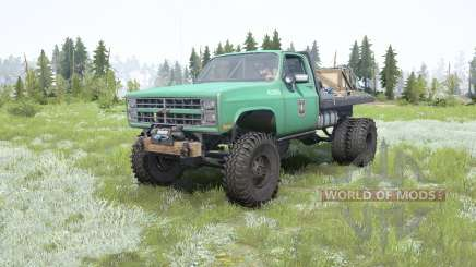 Chevrolet K30 Dually para MudRunner