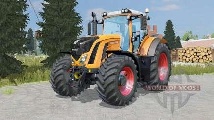 Fendt 927-939 Vario pastel orange para Farming Simulator 2015