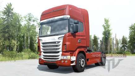 Scania R730 Topline para MudRunner