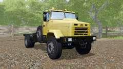 KrAZ-5133 color amarillo para Farming Simulator 2017