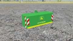 Weight John Deere para Farming Simulator 2013