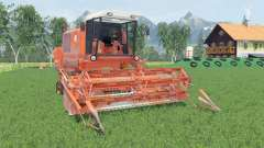Bizon Super Z056 smashed pumpkin para Farming Simulator 2015
