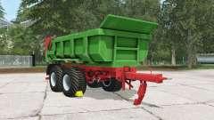 Hilken HI 2250 SMK pantone green para Farming Simulator 2015