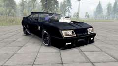 Ford Falcon GT Pursuit Special V8 Interceptor para Spin Tires
